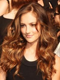 Copper Red Highlights On Dark Brown Hair | Hair ...