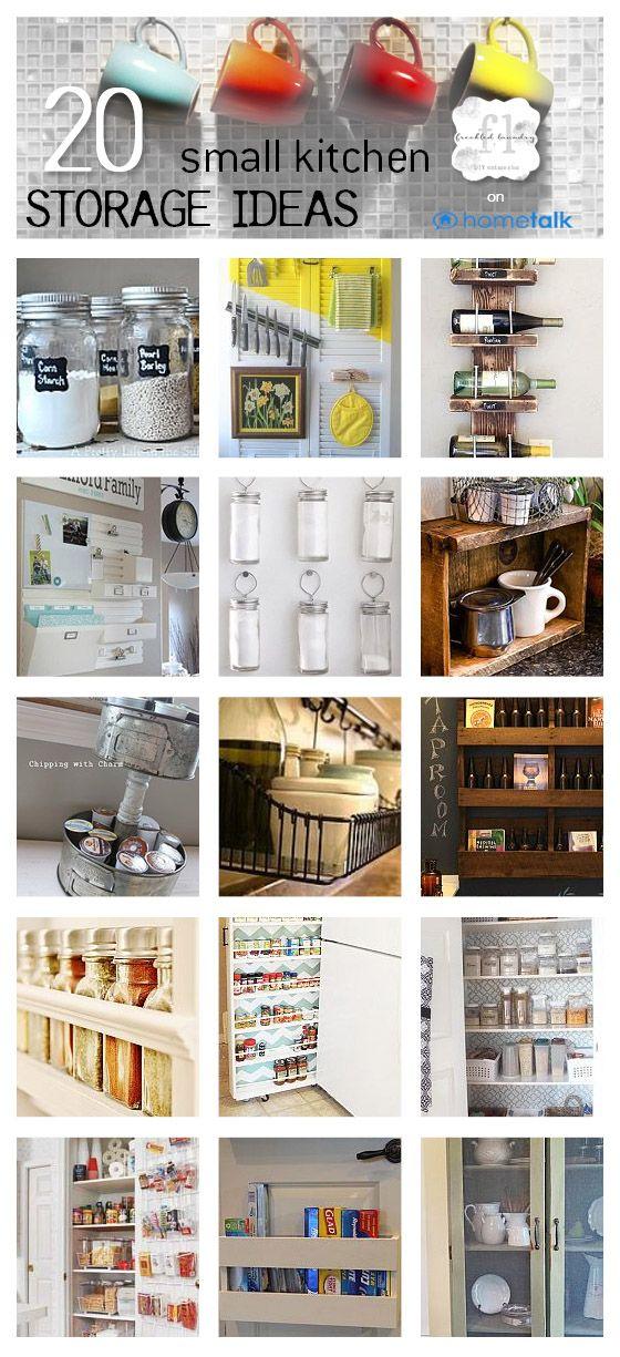 20 small kitchen storage ideas Idea Box by Freckled Laundry (Jami - kitchen storage ideas for small spaces