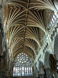 Gothic Architecture Vaulted Ceiling | Catredrales Gticas ...