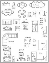 Free 1 4 Furniture Templates | Dream Home | Pinterest ...