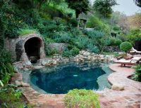 Blackbottom pool with Grotto spa | Water Water Everywhere ...