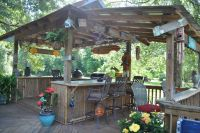 Back Yard Bar | Back Yard Tiki Bars | Outdoor | Pinterest ...