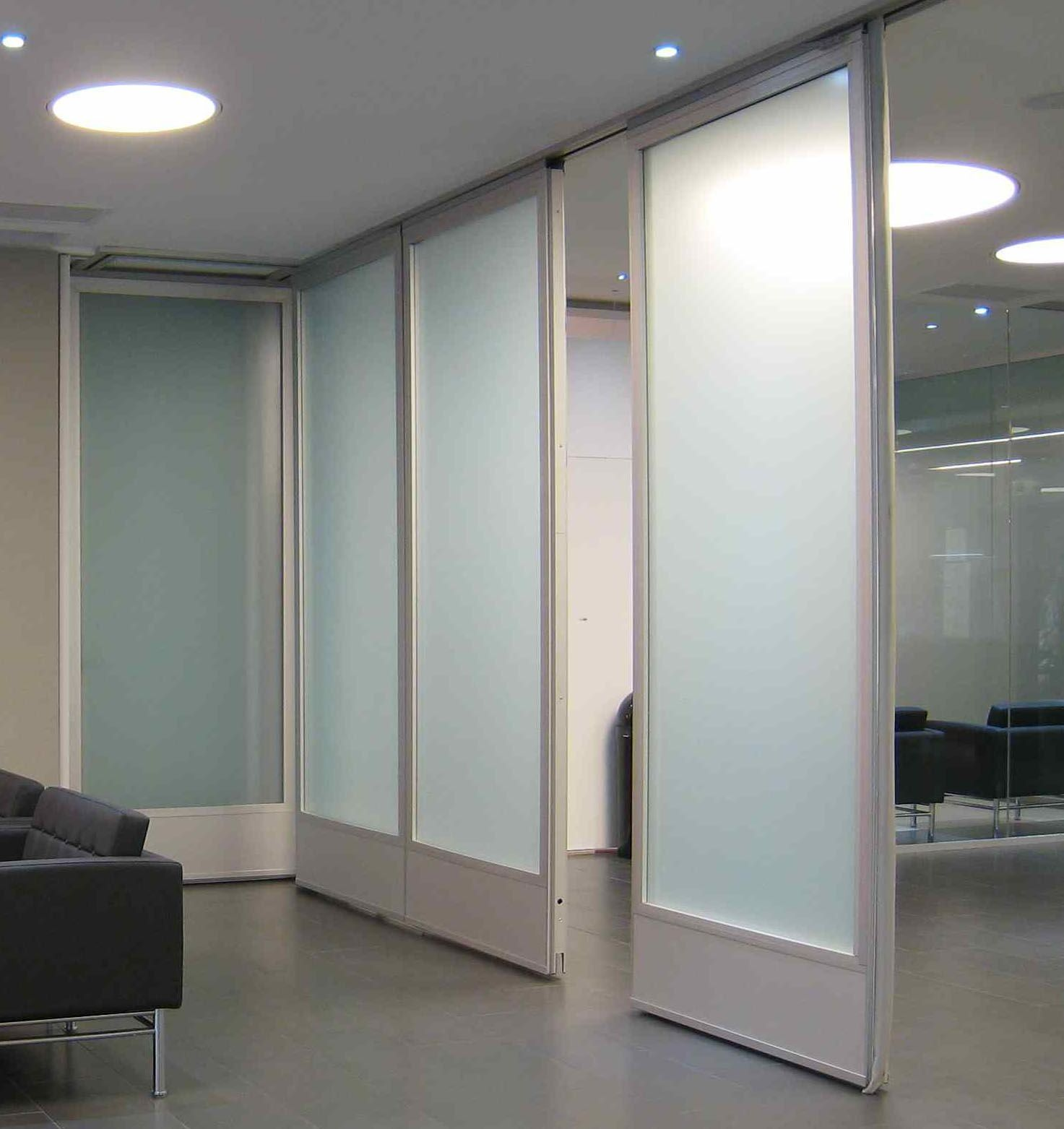 Glass Wall Interior Movable Glass Doors Glass Wall Hufcor Work Student
