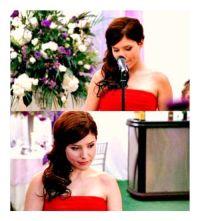 brooke davis at haley's wedding | hair | Pinterest ...