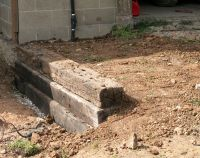 How to Build a Railroad Tie Retaining Wall | Railroad ties ...