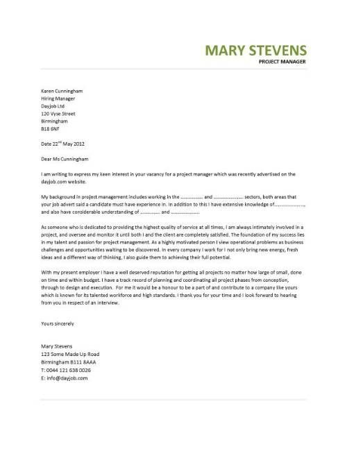 Production Manager Cover Letter - http\/\/jobresumesample\/911 - application letter example