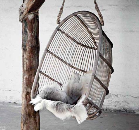 Hängesessel RenoirSwing Rattan Originals u2013 ein Klassiker ist - hangesessel korb rattan