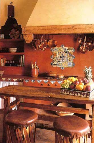 Achieve Spanish Style - Room by Room Kitchen Reno Pinterest - mexican kitchen design