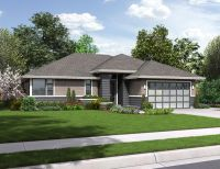 Modern Ranch House Plan - 3087 | Granny cottages ...
