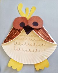 Fun Activities for Kids - Paper Plate Owl Craft | Fun ...