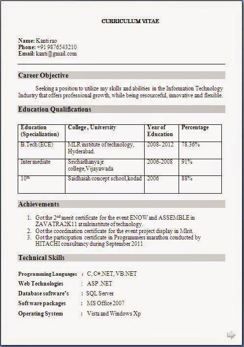 esthetics resume sample