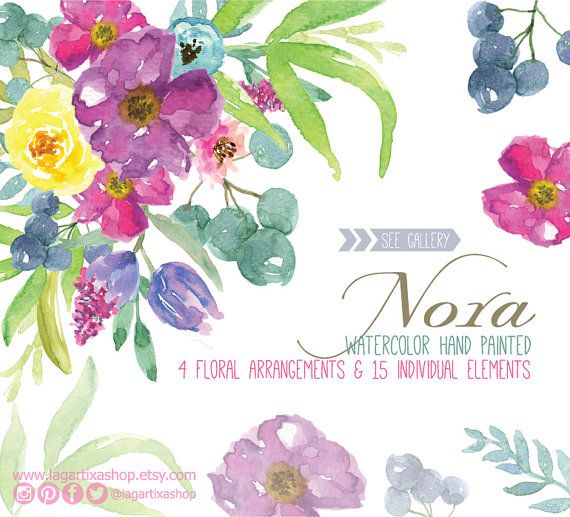 Birthday Banner Nz Watercolor Clipart, Frames Floral Png, Wedding Bouquet