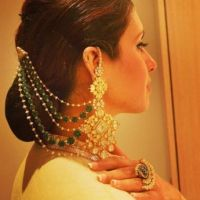 Trending: Stunning Earrings With Hair Chains | Hair chains ...
