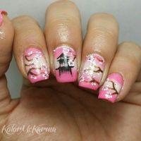 Japanese cherry blossom nailart .   Nails Spirit ...
