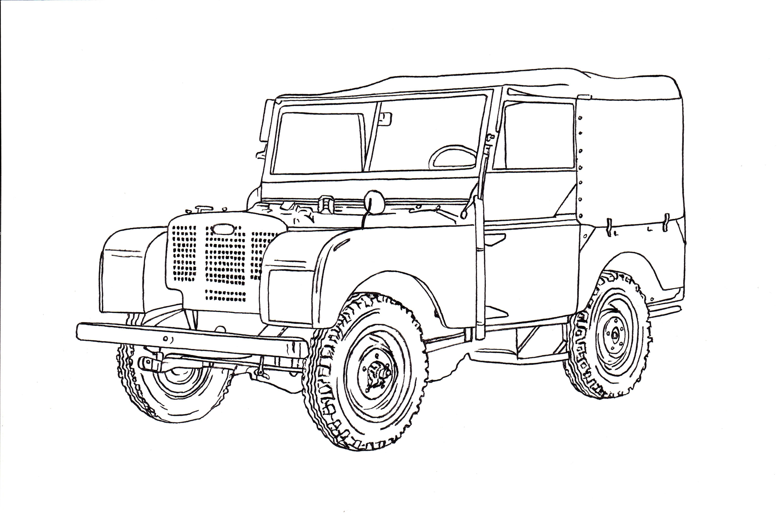 land rover Schaltplang series 2