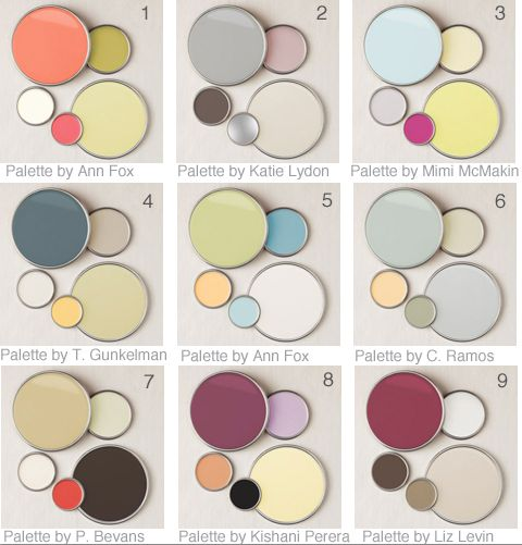 9 Designer Color Palettes Color combos, Color pallets and Designers - home decor color palettes