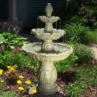 Tiered Water Fountains | Outdoor 3-Tier Fountains ...