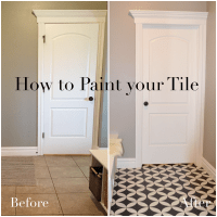 How to Paint your Tile Remingtonavenue.blogspot.com ...