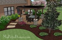 landscaping ideas for backyard with lots of trees fo nc ...