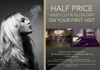 Hair salon flyer offering discounts   HAIR~ Stylist ...