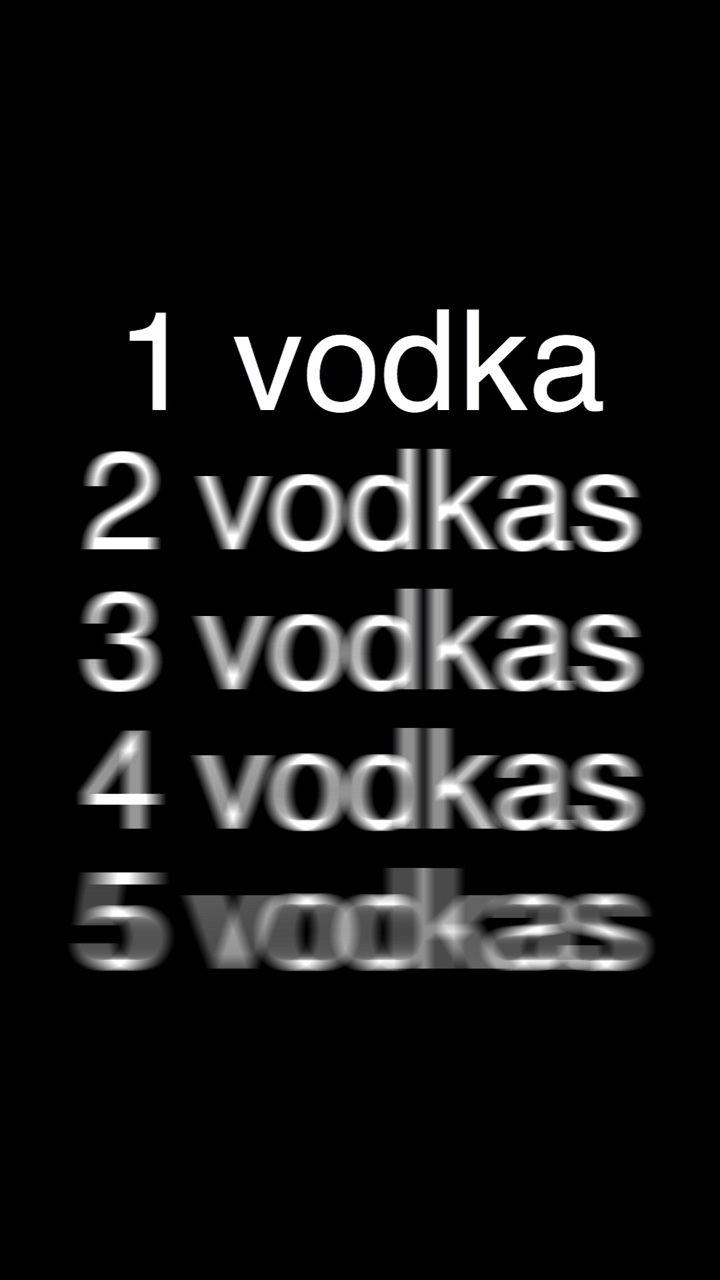 Vodka black white wallpaper
