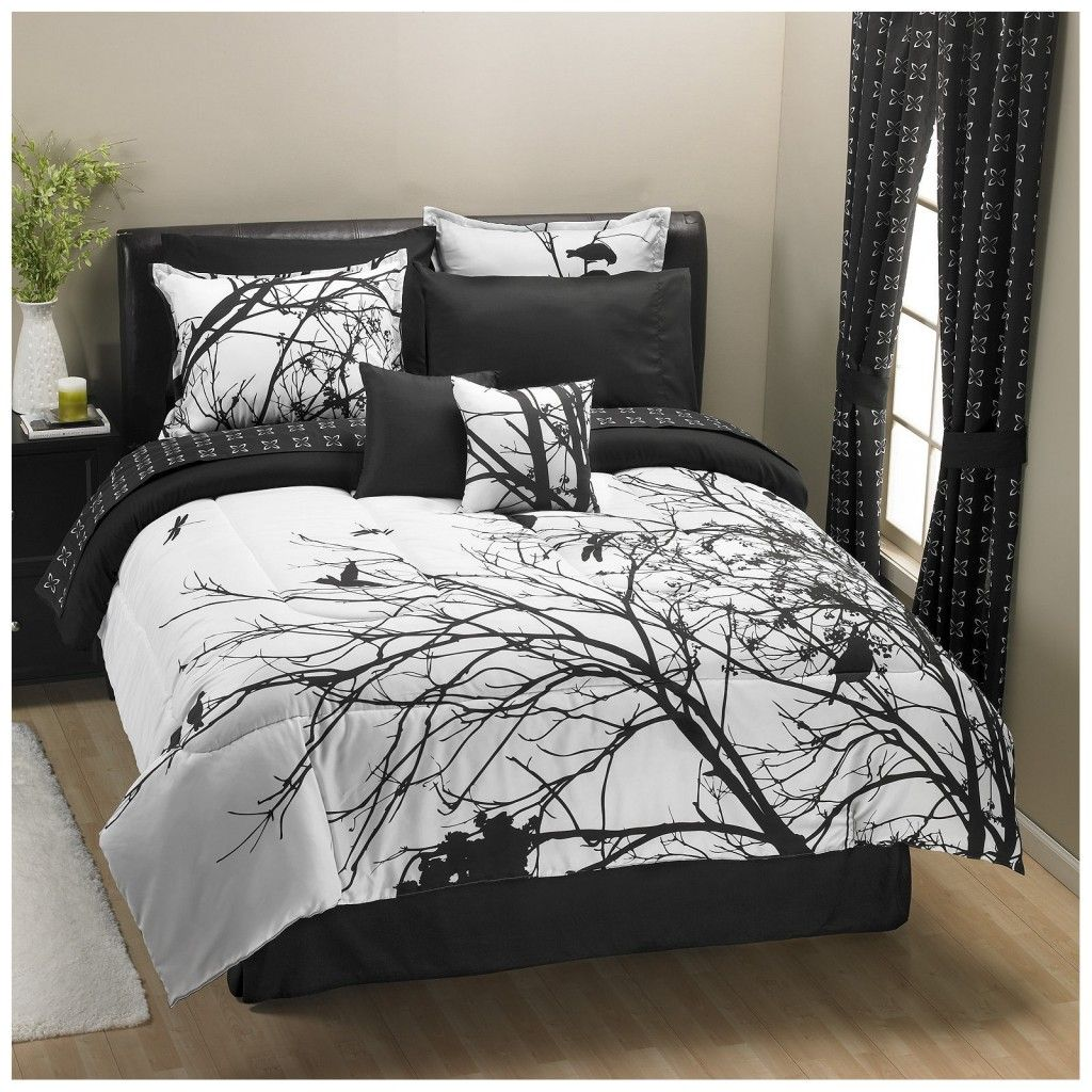 Black and white toile bedding sets black and