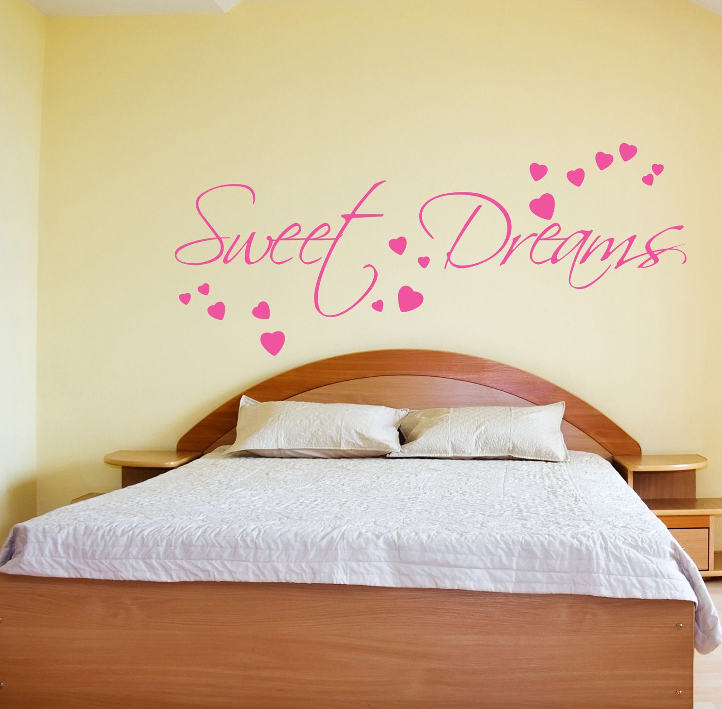 Bedroom wall art stickers quotes
