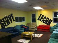 Cool... But not with all the couches. | Youth decorating ...