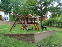 another view sloped yard   Garden/Yard   Pinterest ...