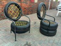 Patio & Garden tyre chairs. | TYRES | Pinterest | Tire ...