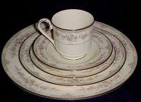 "Noritake China ""Shenandoah"" - Pattern #9729 - 5 Piece ..."