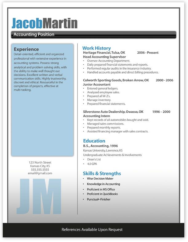 nice contrasts Exceptional Professional Pinterest Modern - contemporary resume templates free