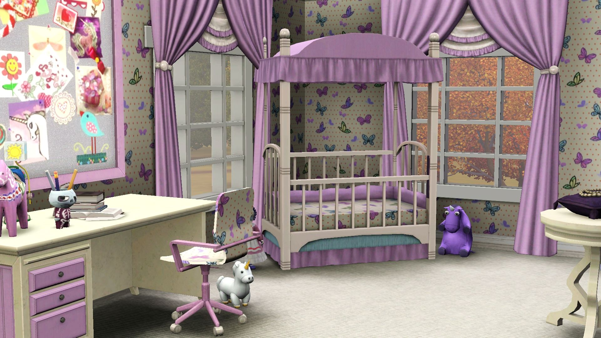 Cute Baby Rooms Screenshot The Sims 3 Cute Pink Baby Room For More