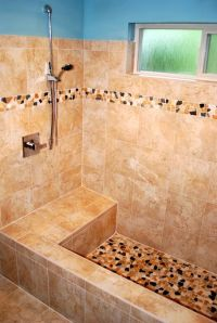 Roman Shower Ideas | tranquil tiled roman tub , We had a ...