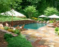 backyard pool ideas pictures   Pool Landscaping Ideas ...