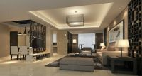 3D Modern House Living Dining Room Partition China ...