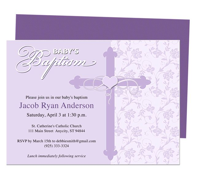 Baby Baptism\/Christening Invitations  Christening Baby Baptism - invitation templates microsoft word