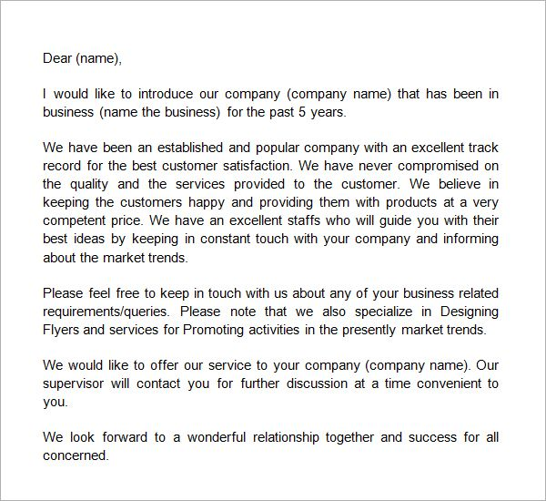 Sample Cover Letters Sales – Professional Sales Letter