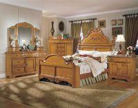 THE FURNITURE :: Solid American Oak Bedroom Set, 'Grandma ...