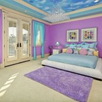 .@roomsforeva   Purple and blue bedroom { requested ...