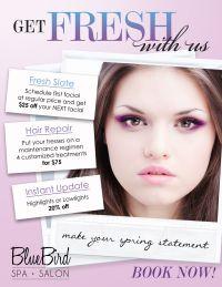 #salon promotions   Beauty Marketing   Pinterest   Salon ...