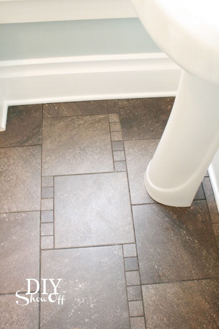 DIY Show Off Wall tiles, Walls and House - bathroom baseboard ideas