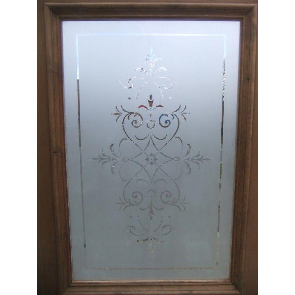 Ge tste glazen deur the regent b etched glassglass doorswindow treatments