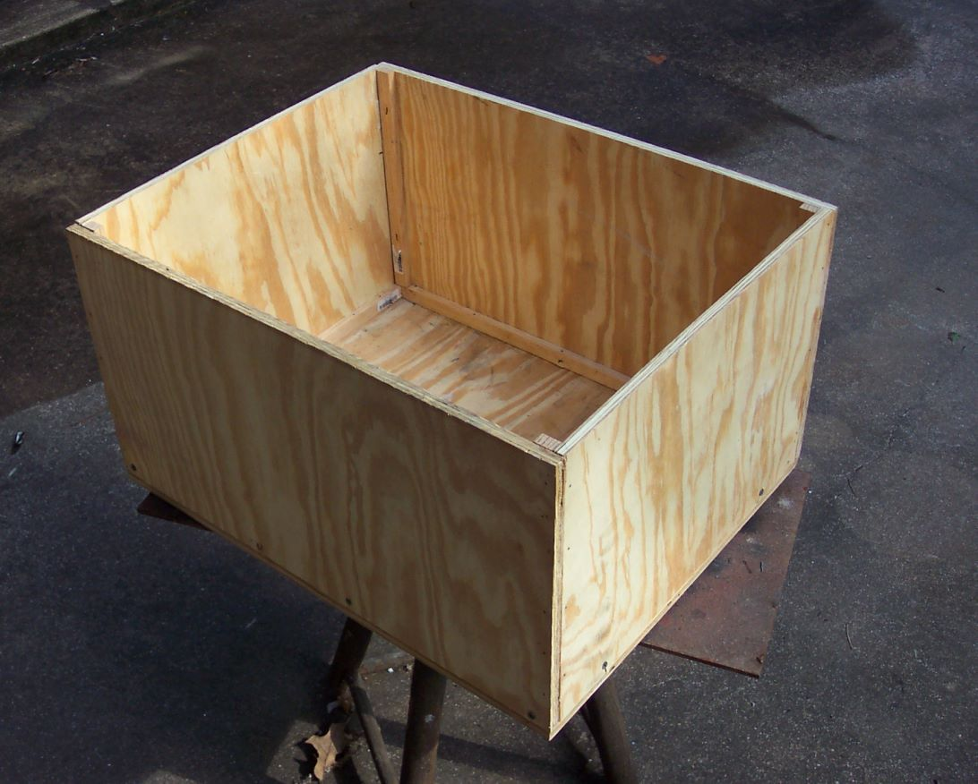 Box à Planter Plywood Planter Box The Art Room Pinterest