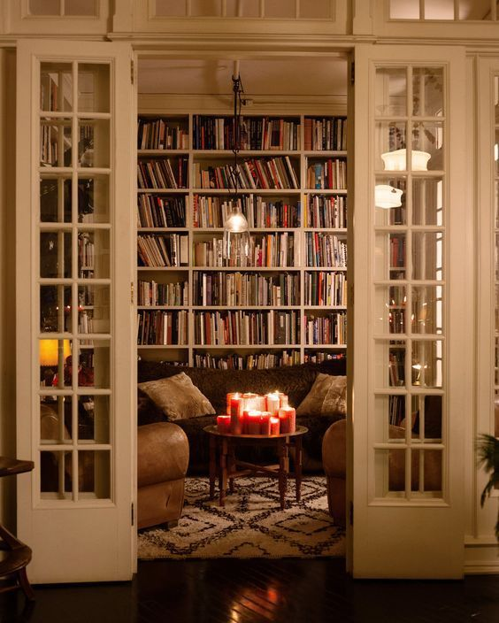 18 Incredible Home Libraries That Will Blow Your Mind Spaces - home library ideas