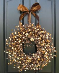 Fall Berry Wreath - Smores - Chocolate and Marshmallow ...