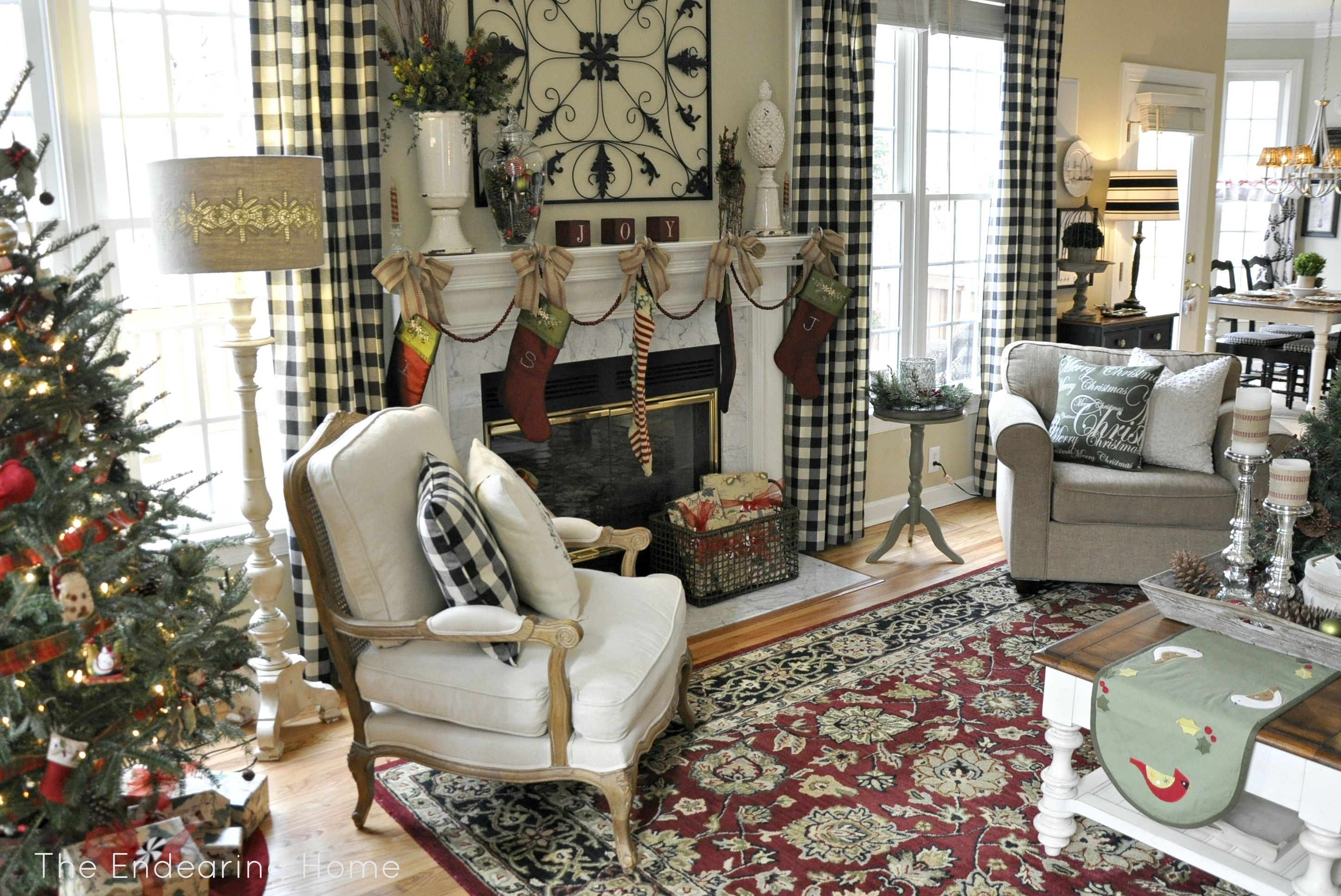 The endearing home restyle repurpose reorganize buffalo check curtains living room