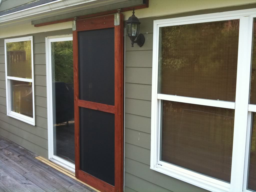 Screen Porch Doors Sliding Screen Doors On Pinterest | Craftsman Porch, Patio