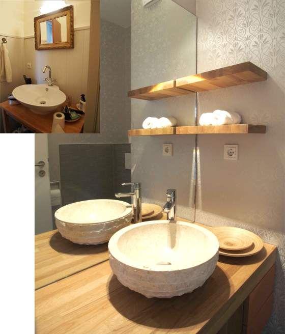... Gäste WC 3 Allerlei Pinterest Gäste Wc, Gast Und Badezimmer    Badezimmer 70er ...