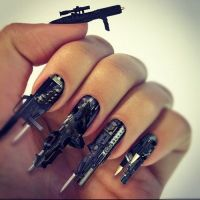crazy+nail+images | Crazy Nail Designs Ideas | NAILS, EYES ...